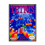 GUICAI Tetris Game Cover Poster Dekorative Malerei Leinwand