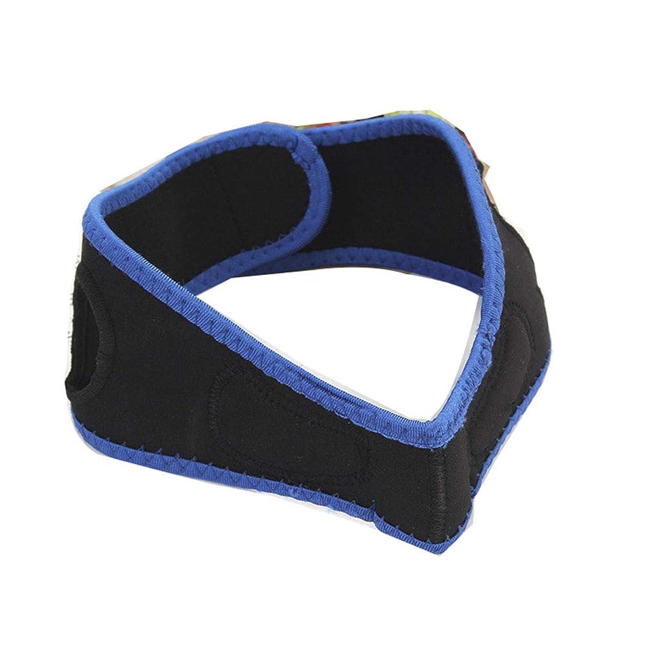 阻害するアレルギーベット男性と女性の顔を持ち上げるベルト、睡眠薄い顔ベルト/リフティング引き締め顔の整形マスク/顔包帯/顔を持ち上げるアーティファクト