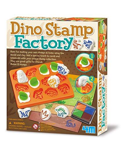 Great Gizmos 4M Dino Stempel Factory Craft
