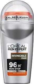 L'Oréal Paris Men Expert Invencible Hombres desodorante roll-on de 96 horas - 6 unidades