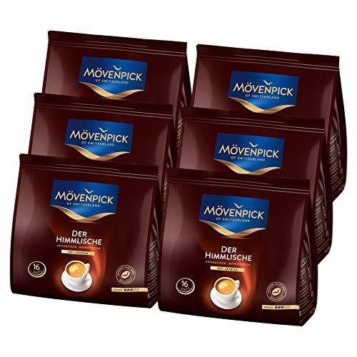 Mövenpick DER HIMMLISCHE 6x16 Kaffeepads á 112g (672g) - Premium Kaffee, 96 Pads