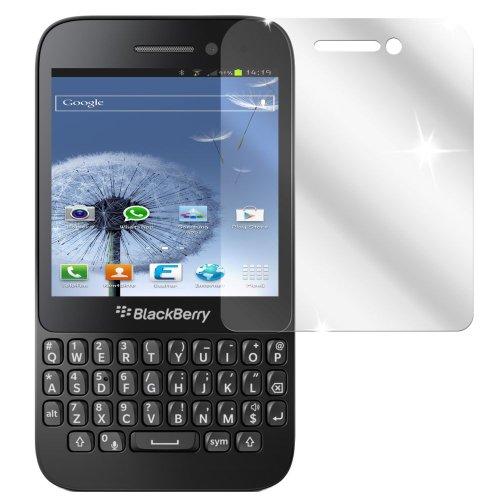 Ecultor I 6X Schutzfolie klar kompatibel mit BlackBerry Q5 Folie Bildschirmschutzfolie