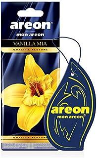 AREON Mon Autoduft Vanille Mia Lufterfrischer Auto Duft Hängend Aufhängen Anhänger Spiegel (Vanilla Mia Pack x 1)
