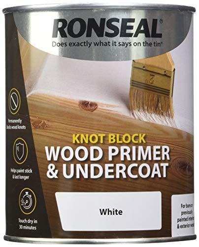 Ronseal rslkbpu750nudo bloque imprimación y capa, claro, 750ml