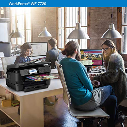 Epson WorkForce WF-7720 Wireless Wide-format Color Inkjet Printer with Copy, Scan, Fax, Wi-Fi Direct and Ethernet, Amazon Dash Replenishment Ready Photo #4