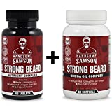 Best Beard Growers - Beard Grower Vitamins & Omega-3 Beard Growth Product Review