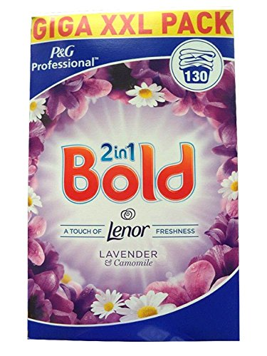 Bold Lavender Camomile Washing Powder 130 Scoop Laundry Detergent