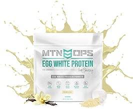Mtn Ops Eva Shockey Signature Series Egg White Protein Powder, Vanilla, 30 Servings, Vanilla, 27.6 Ounce
