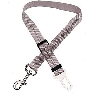 2.5cm LAAT Arn/és de Perros para Coche Nylon Cintur/ón de Seguridad Ajustable de Coche para Perros y Mascotas Size 70 Rosa
