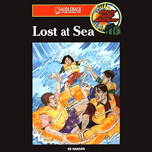 Lost at Sea audiobook cover art