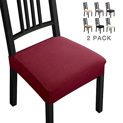 Funda de color rojo navidad para asiento de silla