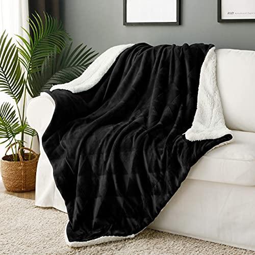 Exclusivo Mezcla 50' x 70' Large Throw Blanket, Reversible Brushed...