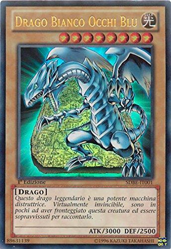 Yu-Gi-Oh! - SDBE-IT001 - Drago Bianco Occhi Blu - Mazzo Introduttivo La Saga del Drago Bianco - 1st Edition - Ultra Rara
