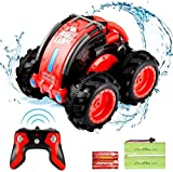 SZJJX Remote Control RC Boat 4WD 2.4Ghz Car Vehicle 360°Rotation Spins & Flips