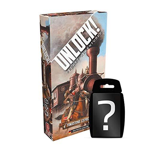 Unlock! - Tombstone Express | DEUTSCH | Set inkl. Kartenspiel