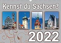 Kennst du Sachsen? (Wandkalender 2022 DIN A3 quer): Besondere Sehenswuerdigkeiten in Sachsen (Monatskalender, 14 Seiten )