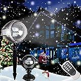 Decorazioni natalizie Proiettore LED di . Lampade del paesaggio del riflettore rotante delle...