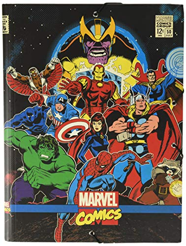 Grupo Erik Carpeta solapas Marvel comics Avengers