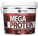 4kg Mega Go Protein Strawberry by GoProtein