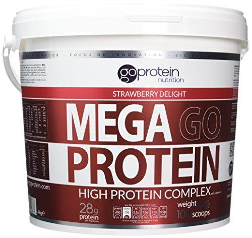 4kg Mega Go Protein Strawberry