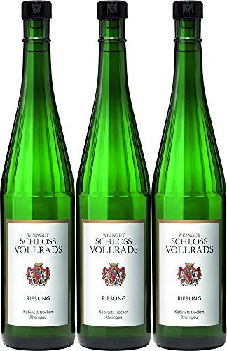 Schloss Vollrads 2016 Riesling Kabinett trocken Rheingau Dt. Prädikatswein 0,75 L