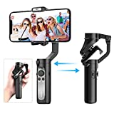 Smartphone Stabilisateur - Gimbal Stabilisateur pour iPhone 11 Pro/XR/XS Max/Galaxy S10+ /Huawei...