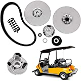 TUNTROL OE Style Secondary Driven Clutch for Yamaha Golf Cart G2 G8 G9 G11 G14 G16 G20 G21 G22 G28 1985+ (with Belt)