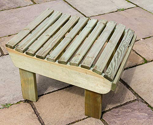 Zest4Leisure Lily Foot Stool - FSC Certified Pressure Treated Wood
