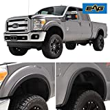 EAG Fender Flares Satin Black Styline Series Fit for 11-16 Ford F-250/F-350
