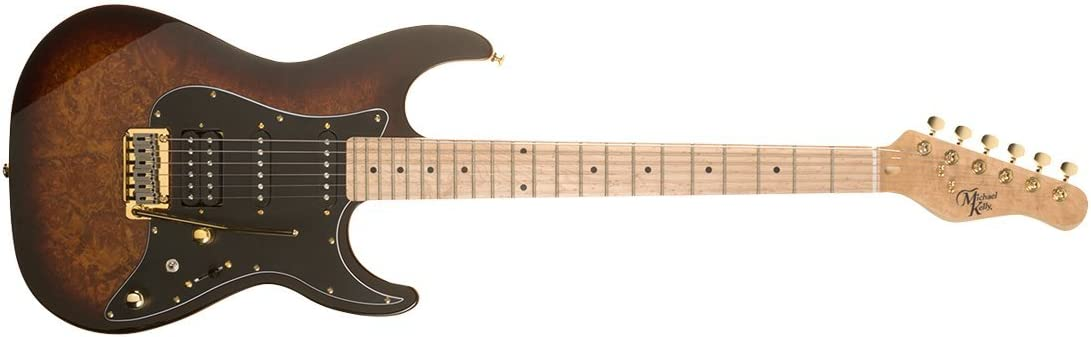 Michael Popular Kelly CC60 Burl Edition Guitar Burst Ranking TOP8 Electric