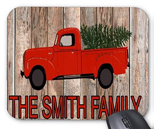 N\A Alfombrilla de ratón La Familia Smith con diseño de Coche pequeño Rojo Alfombrilla de ratón
