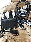 Logitech G25 Racing Wheel - Volante/mando (Ruedas + Pedales, PC,...