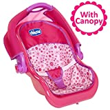 Baby Doll Car Seat Carrier with Canopy, For Baby Dolls Up To 18...