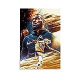 LeBron James King James LBJ HD3 Poster, dekoratives