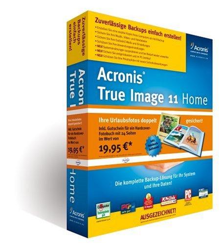 Preisvergleich Produktbild Acronis True Image 11 Home