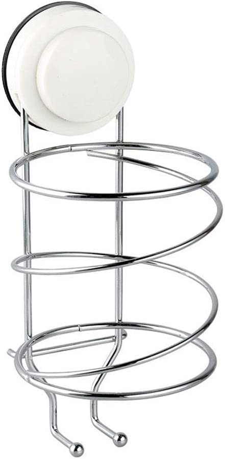 LOSYU Polished Stainless Steel Hair Wall 67% OFF of fixed price Dryer Mount Max 52% OFF Rack Suct