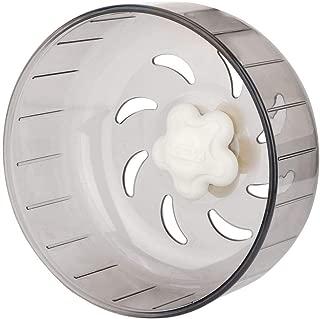 HEEPDD Pet Hamster Running Wheel, 13cm Transparent Plastic Mute Treadmill Wheel Aerodynamic Design Small Pet Exercise Wheel Washable Running Tools for Gerbils Chinchillas Guinea Pigs Animals