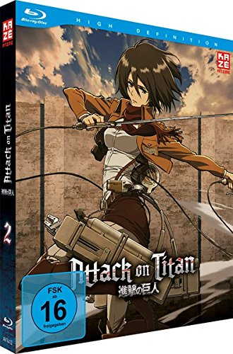 Attack on Titan - Staffel 1 - Vol. 2 - [Blu-ray] [Limited Edition]
