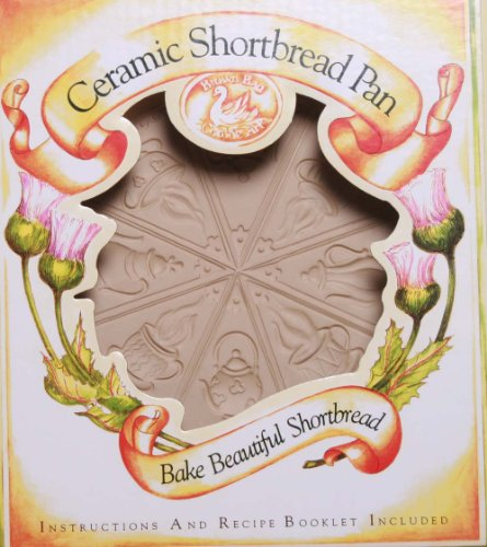 Brown Bag Design Tea Time Shortbread Cookie Pan, 11-3/4-Inch by 9-1/4-Inch