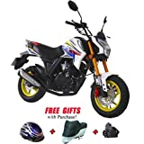 Lifan Brings KP Mini 150cc Street Motorcycle Bike with 5-Speed Manual Transmission, Electric Start! 12' Wheels! Fully Assembled with...