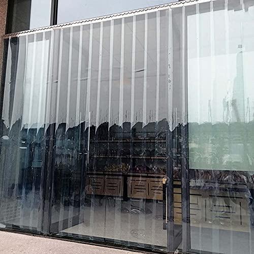 Cortinas de listones de PVC, cortinas de tiras de plástico blando, adecuadas...