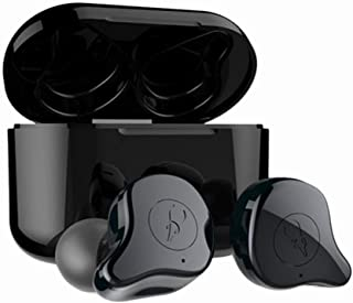 Sabbat E12 Ultra True Wireless Earbuds Bluetooth 5.0 Earphones TWS in Ear Bluetooth Headphones, HiFi Sound, Wireless Charging, Noise Isolation for Android iPhone -Green