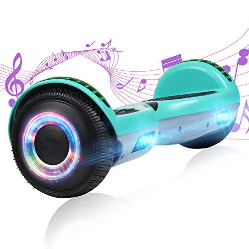 YHR Hoverboard with Wireless Bluetooth Speaker...