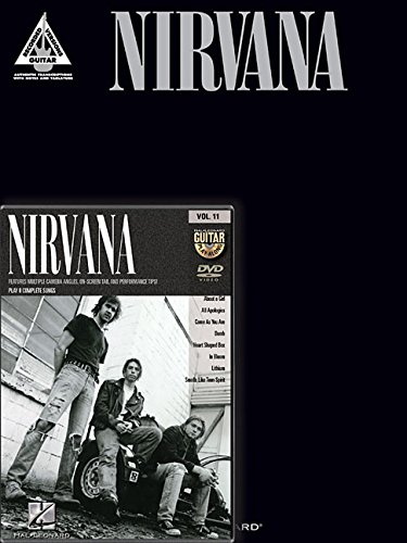 Nirvana Guitar Pack: Includes Nirvana Guitar Tab Book and Nirvana Guitar Play-Along DVD