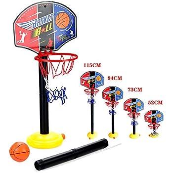 ajustable niños Kids Junior del aro de baloncesto y el soporte de ...
