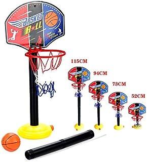 ajustable niños Kids Junior del aro de baloncesto y el