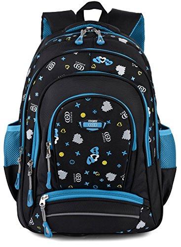 COOFIT School Backpacks For Girls Kids School Bags Bookbag (Unisex color)
