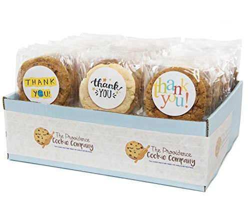 The Providence Cookie Company THANK YOU GOURMET COOKIE GIFT choose 1, 2, 3 or 4 Dozen (1 Dozen)