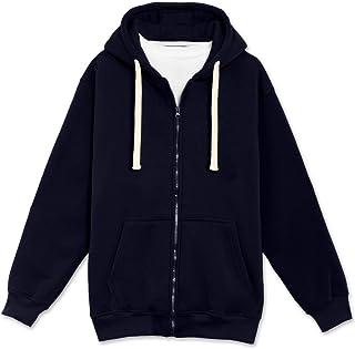 2d133ff21c2 Mens Hipster Hip Hop Basic Lightweight Zipup Hoodie Jacket (Upto 6XL Plus)
