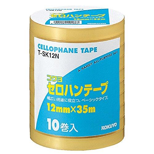 コクヨ『セロハンテープ(大巻き工業用)(T-SK12N)』
